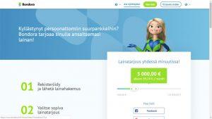 bondora lainaa jopa 10000 euroa